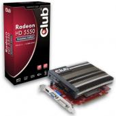 Видеокарта Club 3D Radeon HD 5550 Noiseless Edition